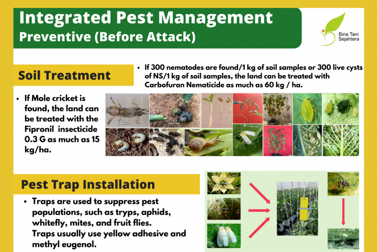 Integrated Pest Management. Preventive (Before Attack)